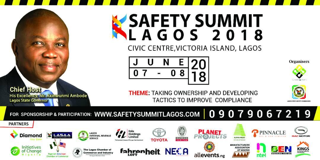 Safety Summit Lagos 2018 e-flyer